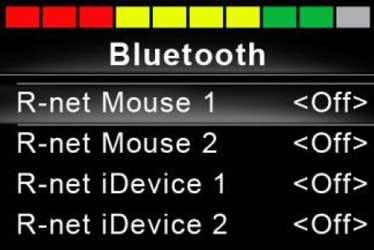 Guide to R-Net Bluetooth
