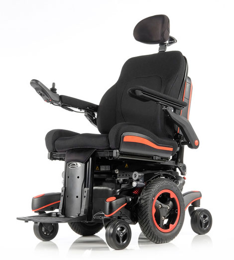 Sunrise Medical QUICKIE Q700 M SEDEO ERGO - The Ultimate Mid-Wheel Drive Power Wheelchair Experience with Intelligent Seating