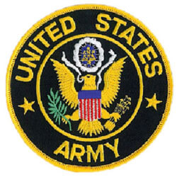 U.S. Army service patch