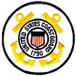 U.S. Coast Guard service patch