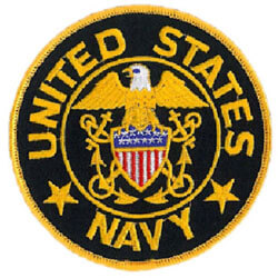 U.S. Navy service patch