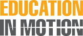 Education in Motion logo