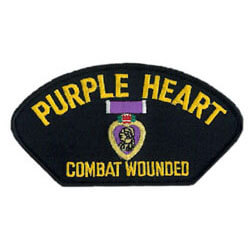 U.S. Purple Heart service patch