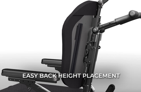 MONO Backrest System - Easy Back Height Placement