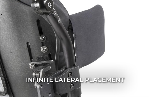 MONO Backrest System - Infinite Lateral Placement