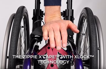 Zippie X'CAPE with XLOCK Technology