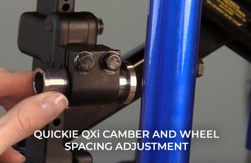 Quickie QXi Camber and Wheel Spacing Adjustment