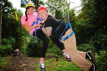 Adaptive Zip-Lining at Orenda Springs