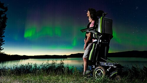 New QUICKIE Q700-UP M Standing Wheelchair