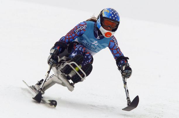 Sarah Will competing in the Paralympics