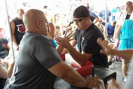 Arm Wrestling My Way to the Top
