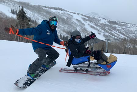 Adaptive Skiing in Utah