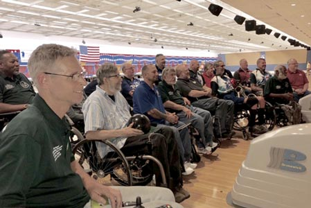 The American Wheelchair Bowling Association