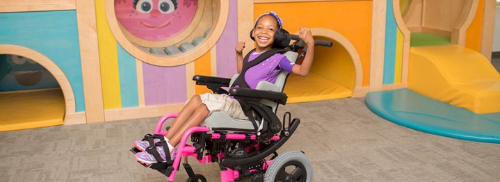The Space Age Comes to Pediatric Tilt-in-Space Wheelchairs
