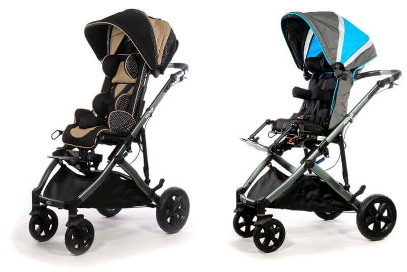 Early intervention adaptive strollers