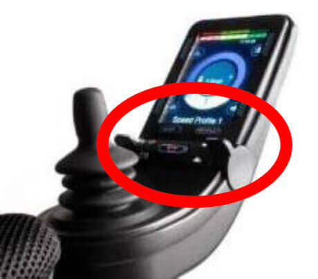 Joystick indicator