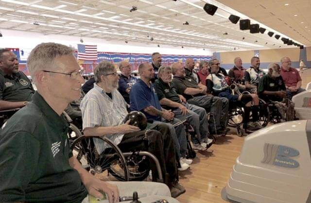 Wheelchair bowlers