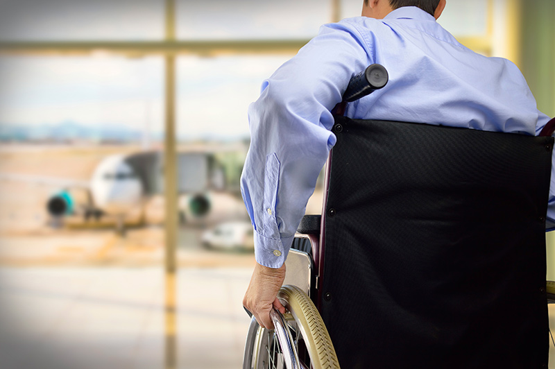 Flying with a wheelchair presents its own set of challenges
