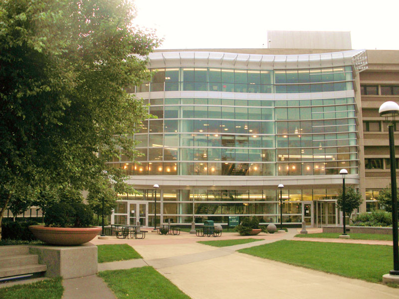 Main Classroom Building at Cleveland State University