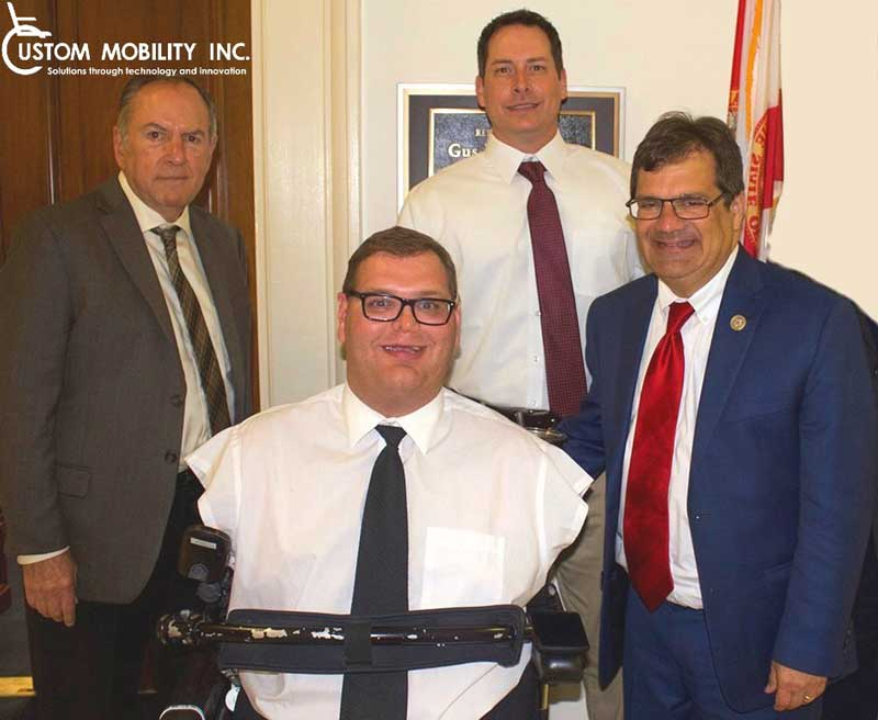 Meeting with Congressman Bilirakis