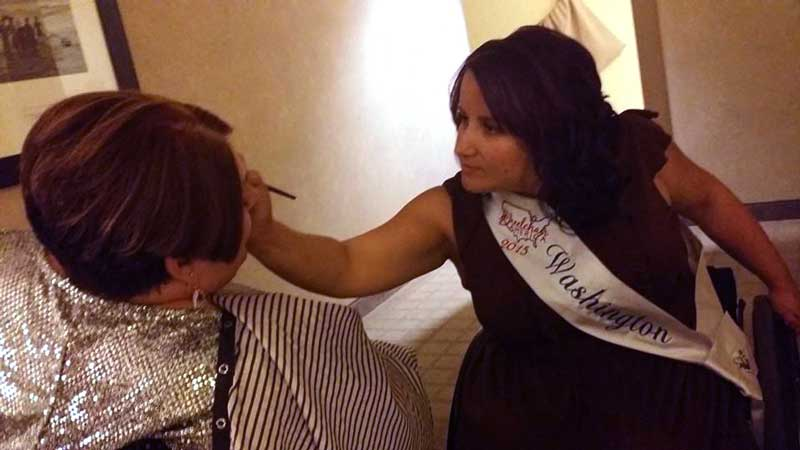 Evelyna at Ms. Wheelchair America 2015
