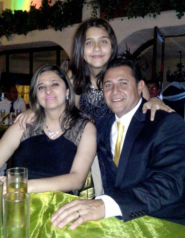 Arturo with his family