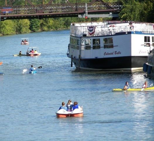 The Erie Canal is a growing center for recreation.