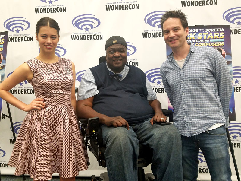 Paul at WonderCon