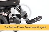 Quickie Power Centermount Legrest