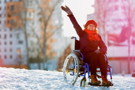 Winter Wheelchair Tips & Tricks