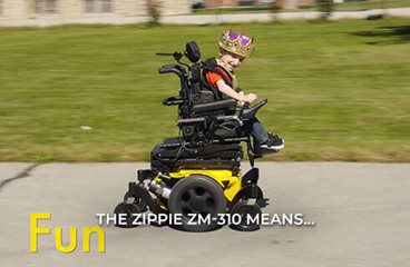 Zippie ZM-310 Lifestyle Video