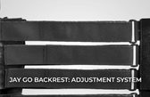 JAY GO Backrest: Adjustment System