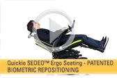 SEDEO Ergo Seating -- Patented Biometric Repositioning