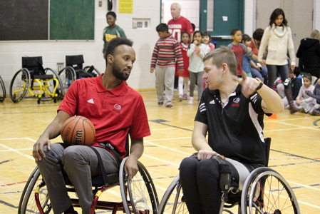 Teaching Wheelchair Basketball