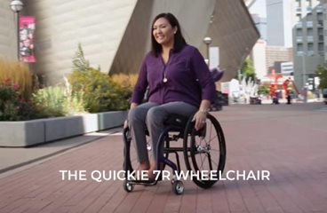 Quickie 7R Wheelchair