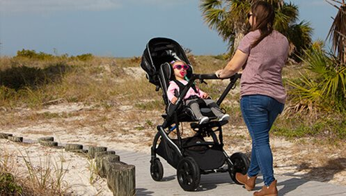 Enhanced ZIPPIE Voyage, a Stylish, Lightweight Stroller with Easy-to-Use Features