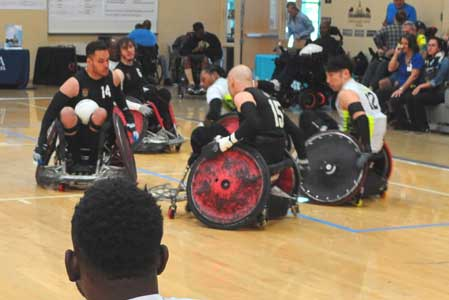 Wheelchair Rugby in Photos