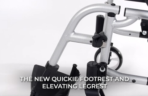 The New Quickie Footrest and Elevating Legrest