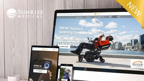 Sunrise Medical Announces Refreshed North American Website