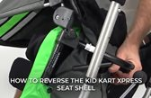 How To Reverse the Kid Kart Xpress Seat Shell