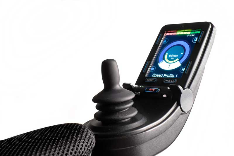 Q700 M power wheelchair proportional joystick