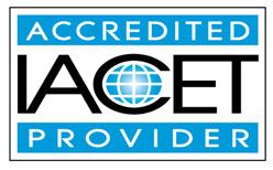 IACET-Approved Provider seal