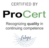 Certified by ProCert. Recognizing quality in continuing competence