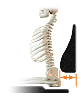 Lumbar support (shape) - too much