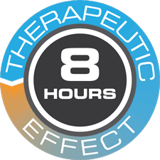 8-hour therapeutic effect icon