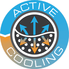 Active cooling icon